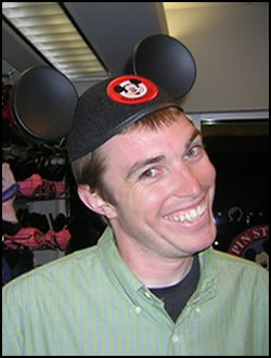 Trey w/Disney hat